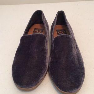 DV velvet style flats shoes